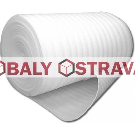 Pěnový polyetylen tloušťka 2mm, šíře 1100mm, návin 100m