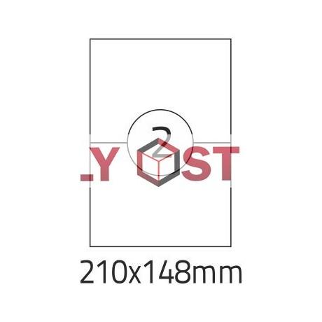 Etikety A4 - 210x148mm - 100stránek