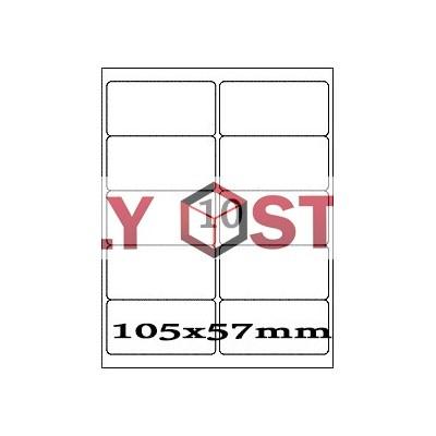 Etikety A4 - 105x57mm - 100stránek