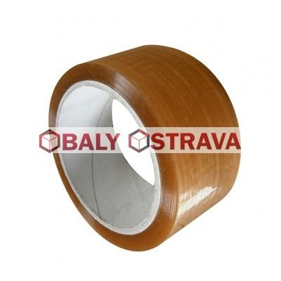 Lepící páska transparentní, šíře 48mm x 66m Solvent
