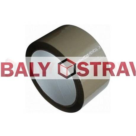 Lepící páska hnědá, šíře 48mm x 60m Solvent