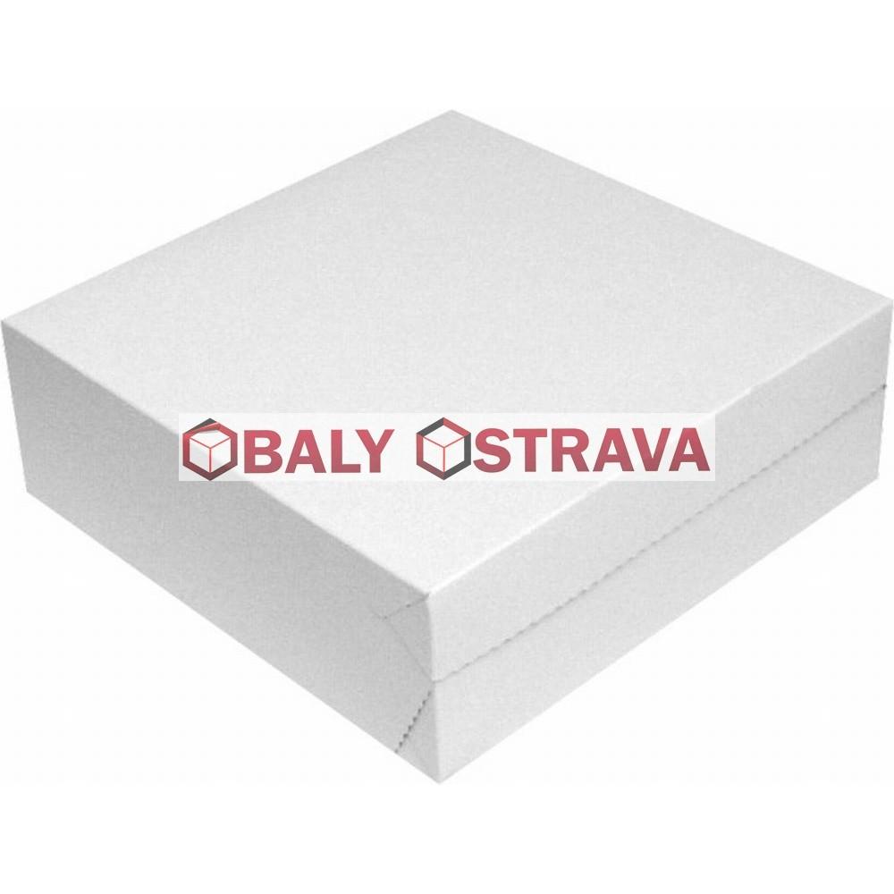 Dortové krabice 30x30x10cm (balení 50ks)