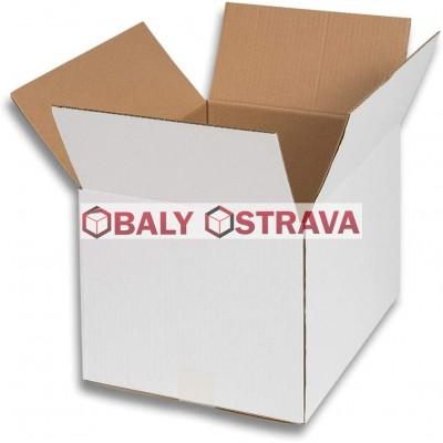 Kartonová krabice bílá - 5VVL 430x430x395mm
