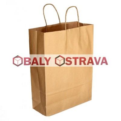 Papírová taška 240x320x100mm