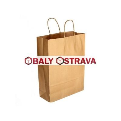 Papírová taška 305x425x170mm kroucené uši