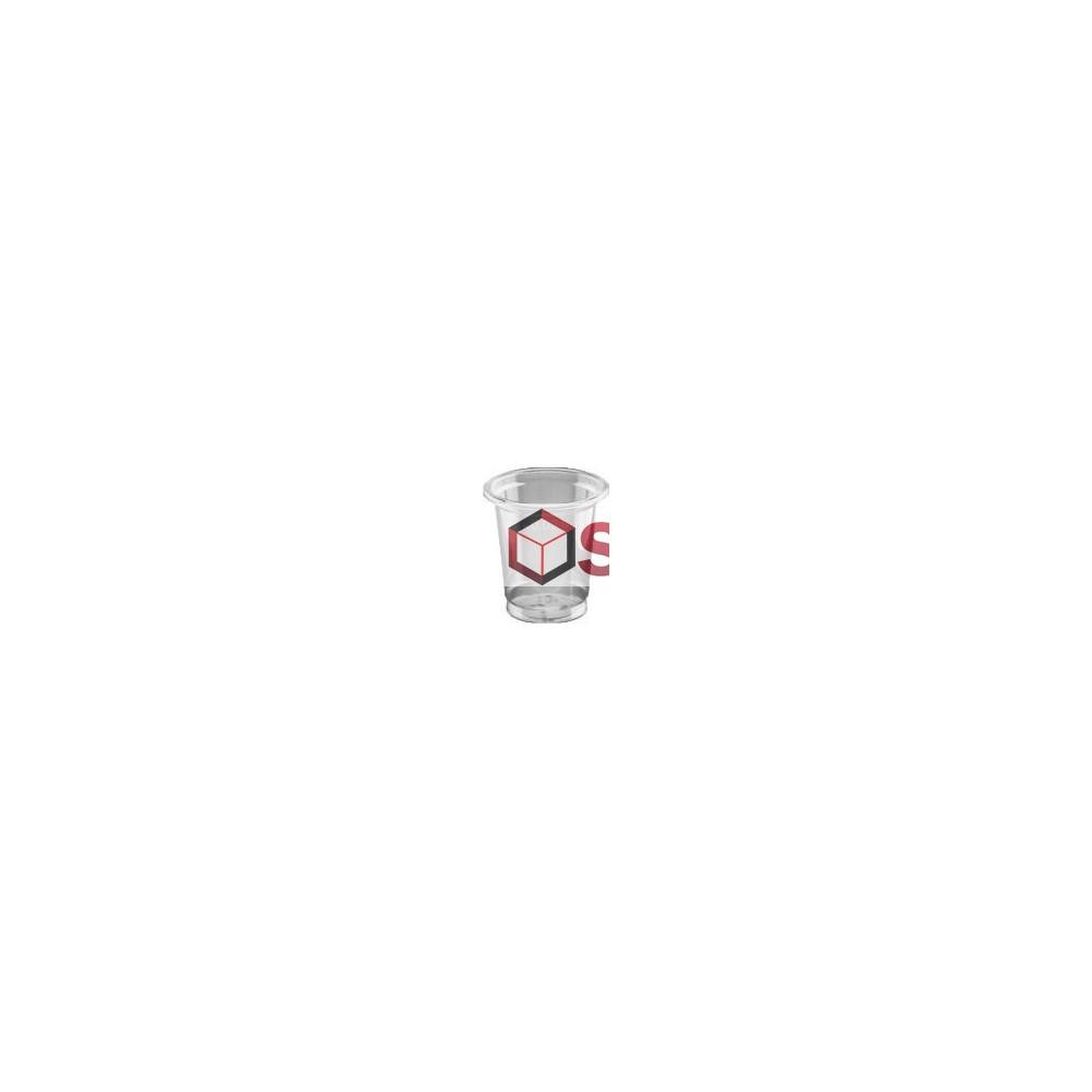 Kelímek čirý PET 2 cl (40 ks)
