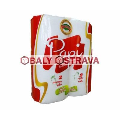 Papírové ručníky MAXI celulóza