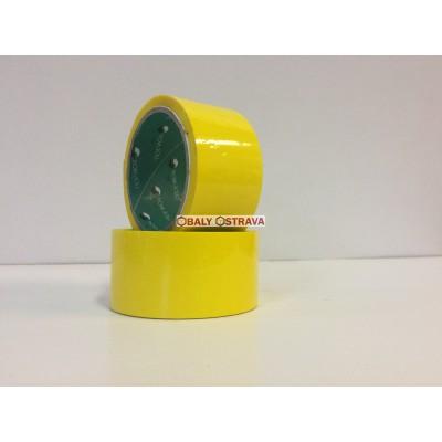 Lepící páska žluta, šíře 48mm