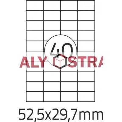 Etikety A4 - 210x297mm - 100stránek