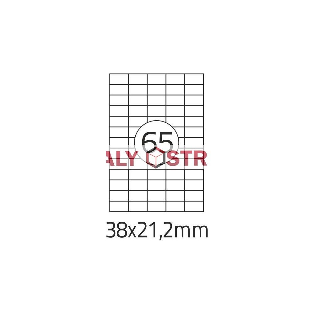 Etikety A4 - 38x21,2mm - 100stránek