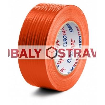 Lepící páska na omítky 48mm/50m oranžová