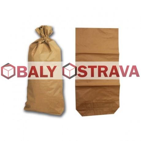 Papírový pytel 2vrstvý 50x75x15 s HDPE folii