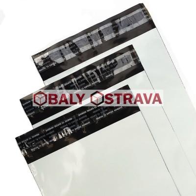 Plastové obálky 190x267mm - 100kusů