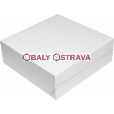 Dortové krabice 28x28x10cm (balení 50ks)