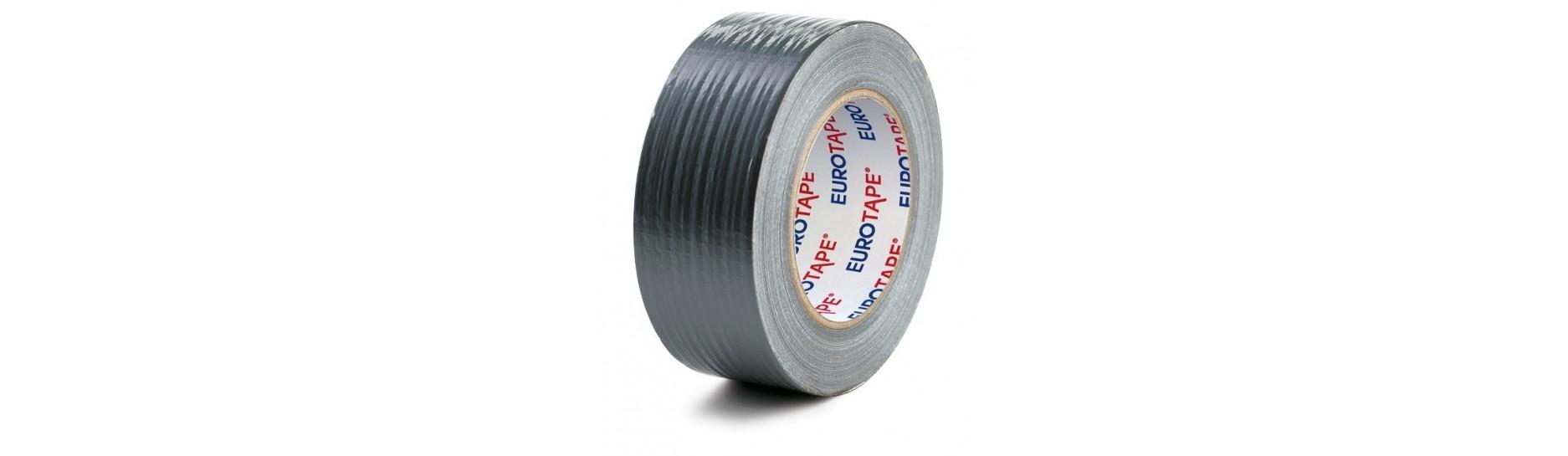 Lepicí pásky Duct-Tape silver, textilní  | ObalyOstrava.cz