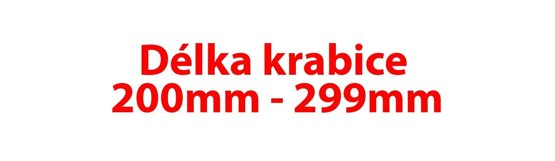 Délka krabice 200-299mm