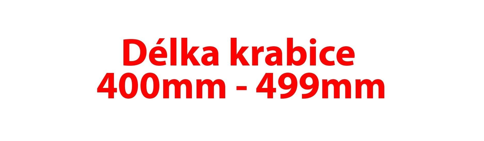 Délka krabice 400-499mm