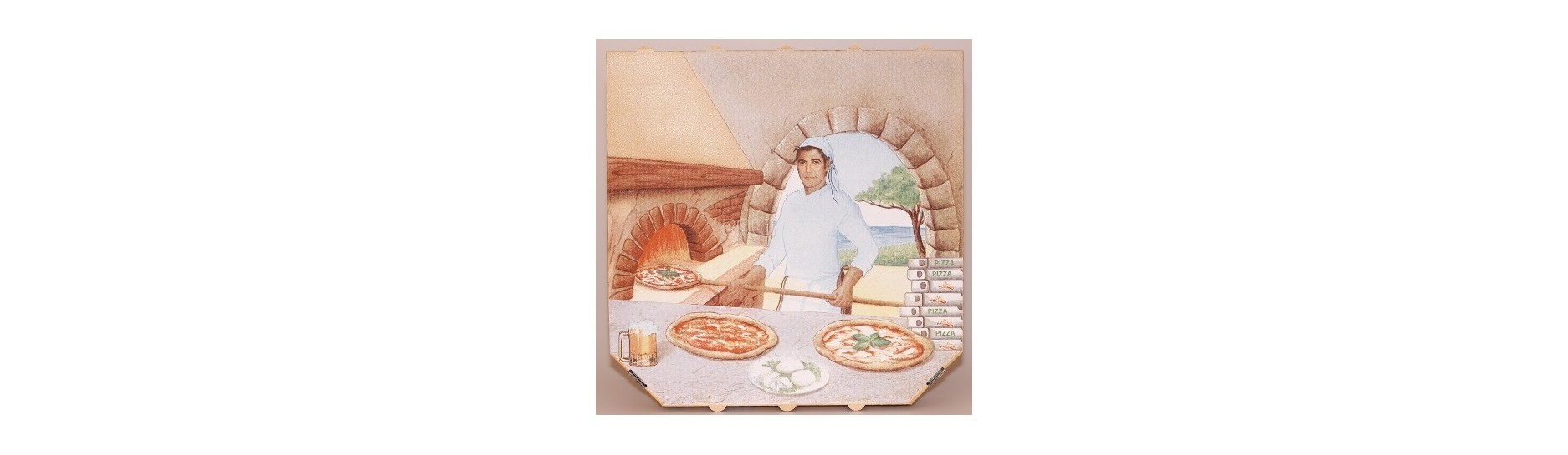Krabice na pizzu a stojánky | ObalyOstrava.cz