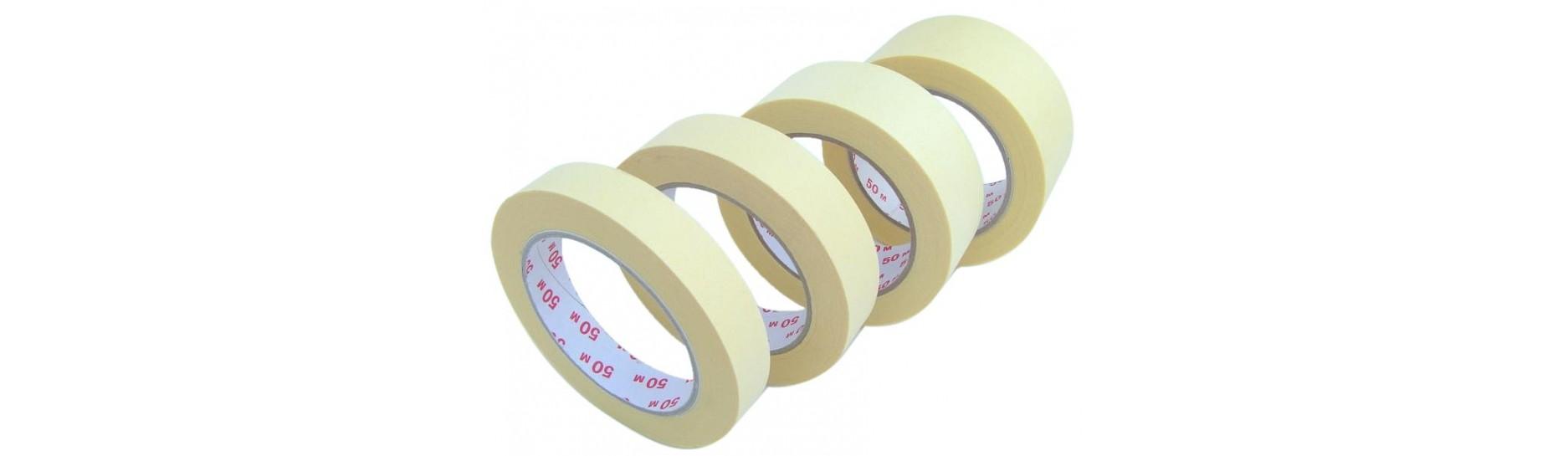 Lepící pásky krepové